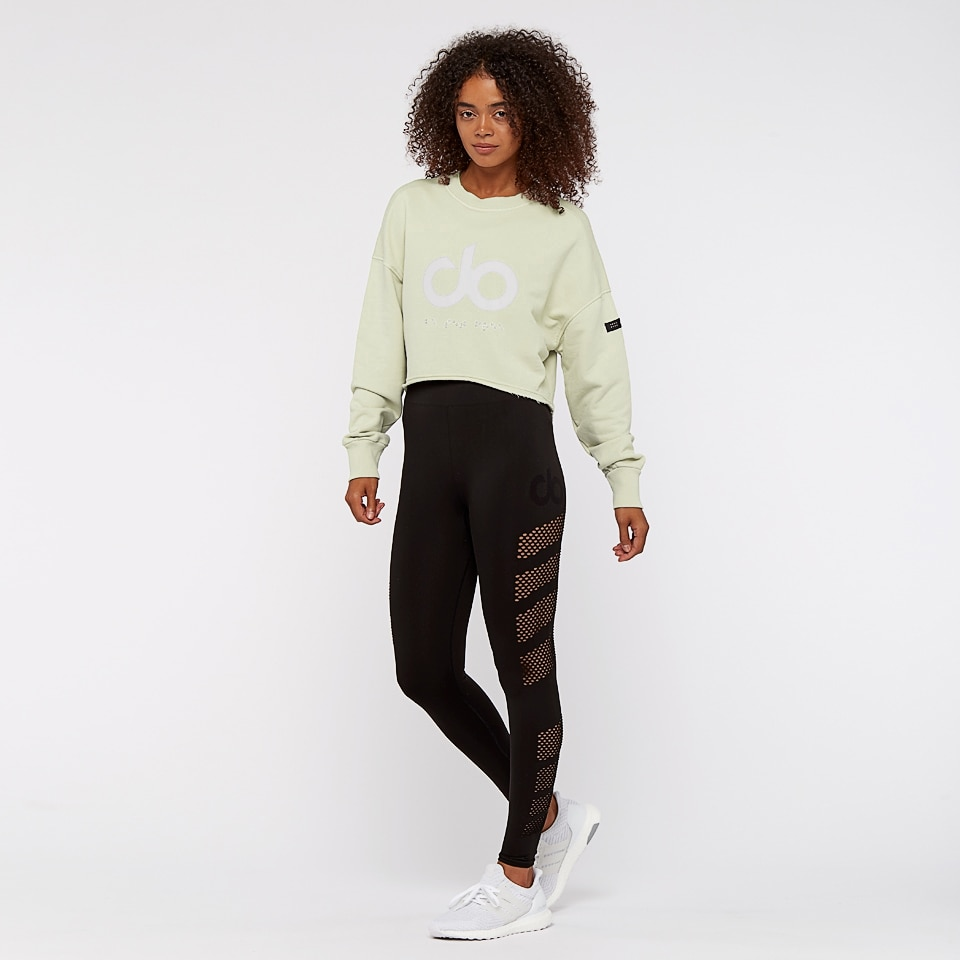 icon raw cut womens sweatshirt - light sage