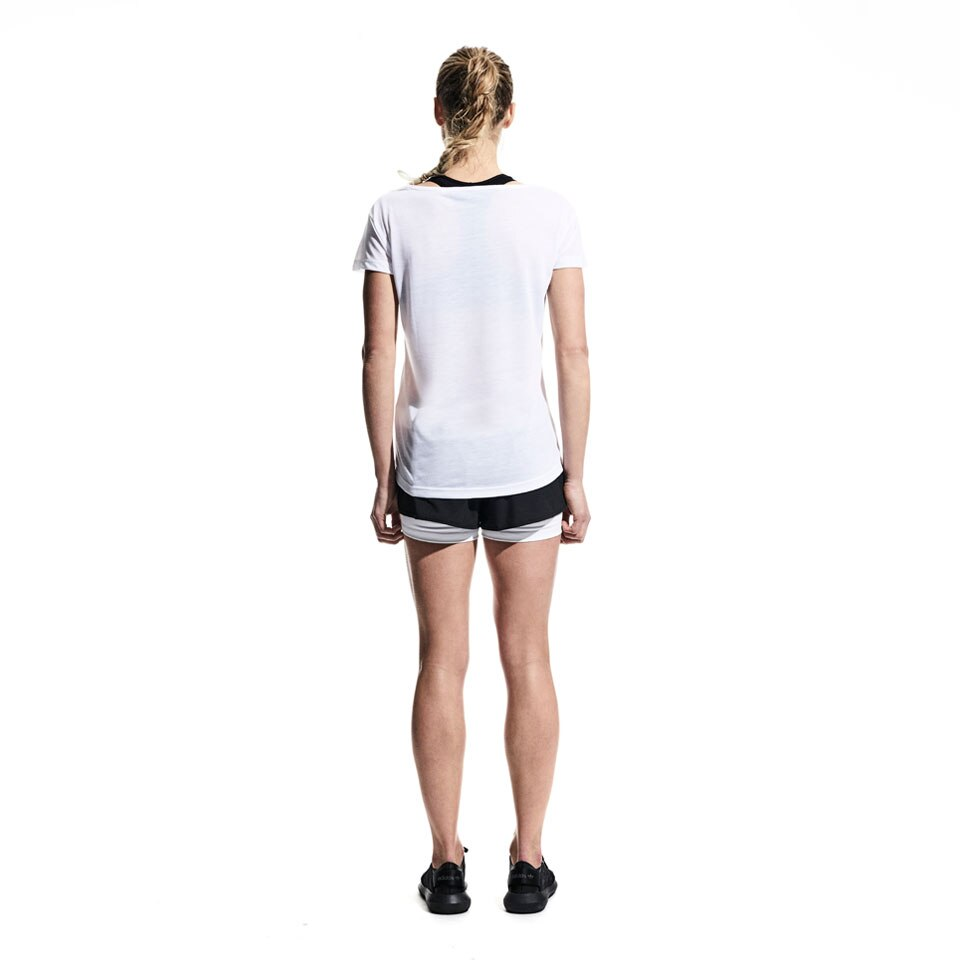 icon womens sports t-shirt - white