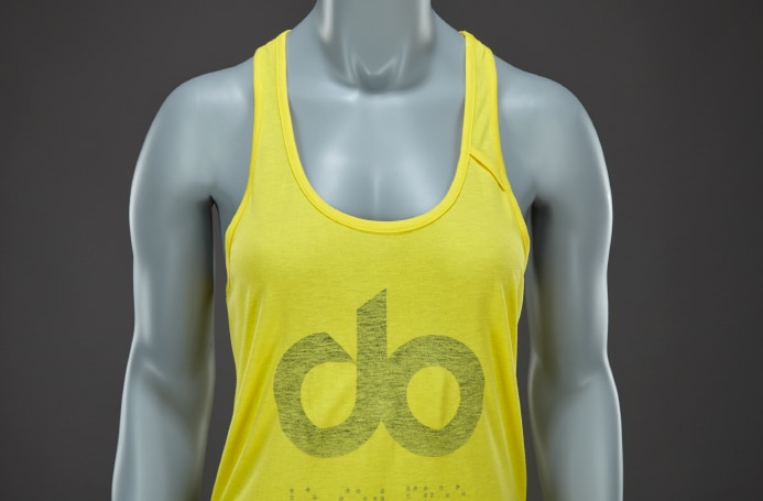 icon womens tank top - yellow