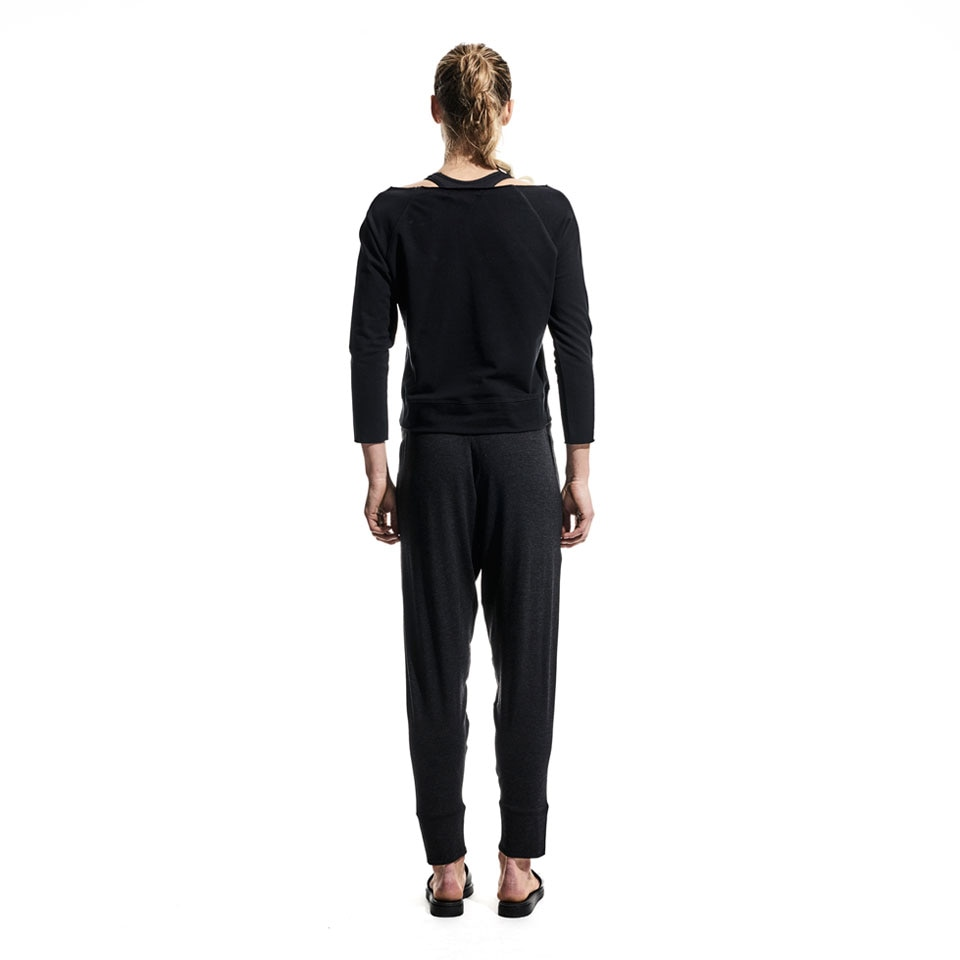 base lightweight womens sweatpants - black