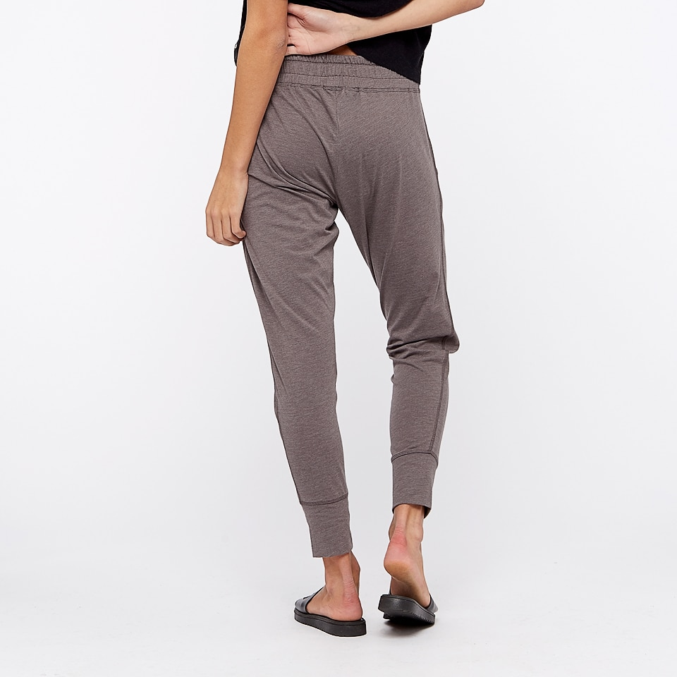 base womens lightweight sweatpants - taupe