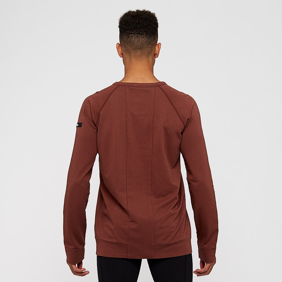 base california mens sweatshirt - rust