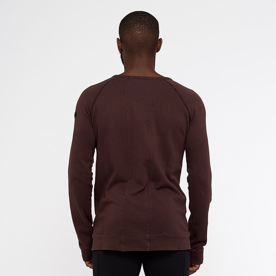 california mens sweatshirt - chocolate aubergine