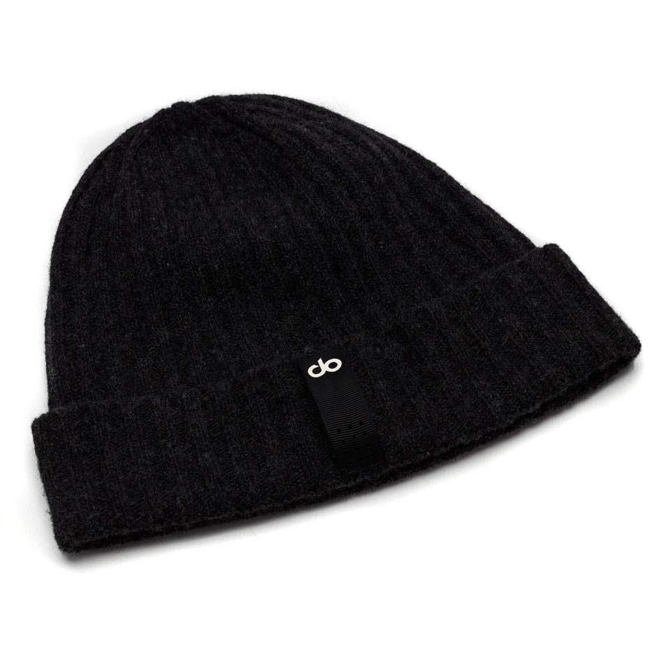 base womens beanie - black