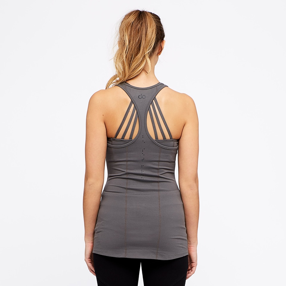 base womens vest - taupe