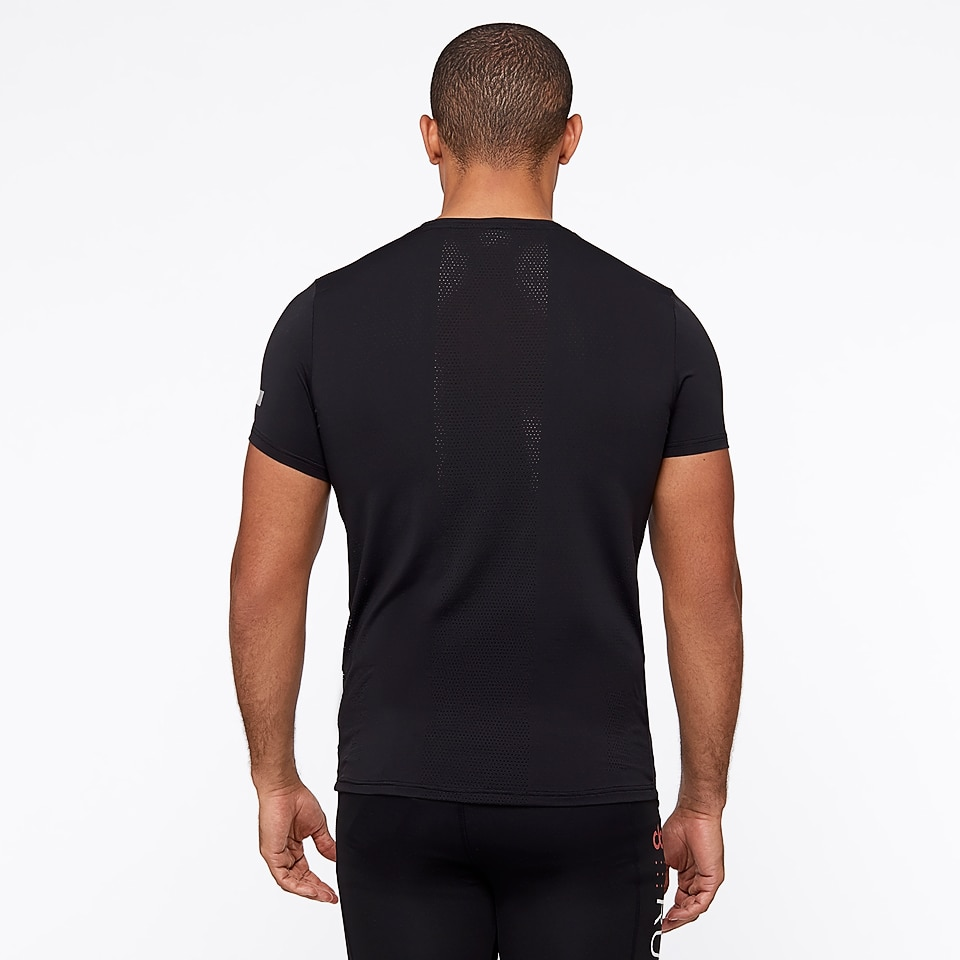 sheer speed dorunning mens t-shirt - black