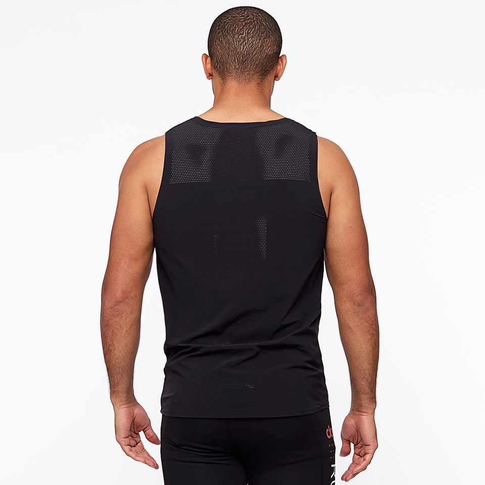 doRUN sheer speed mens vest - black
