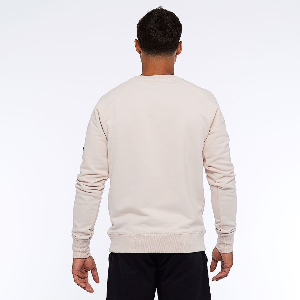 icon mens sweatshirt - stone