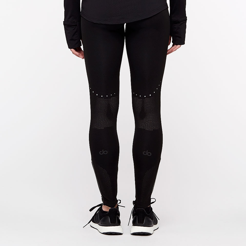 sheer speed dorunning womens leggings - black