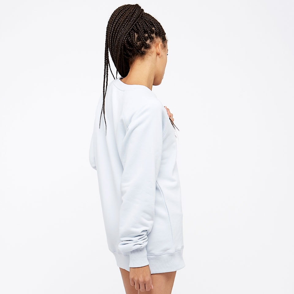 do icon womens sweatshirt - ice blue