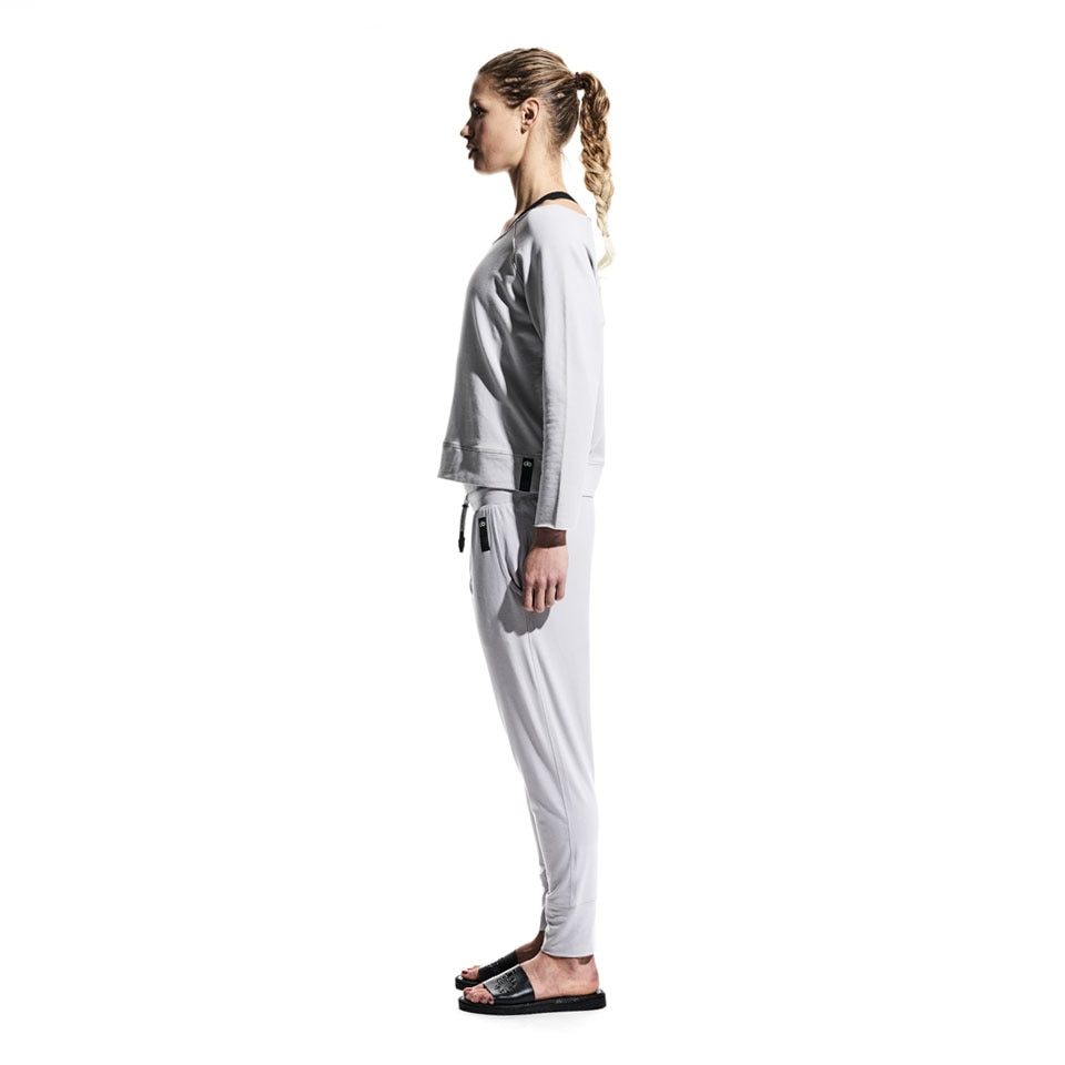 base lightweight womens sweatpants - grey
