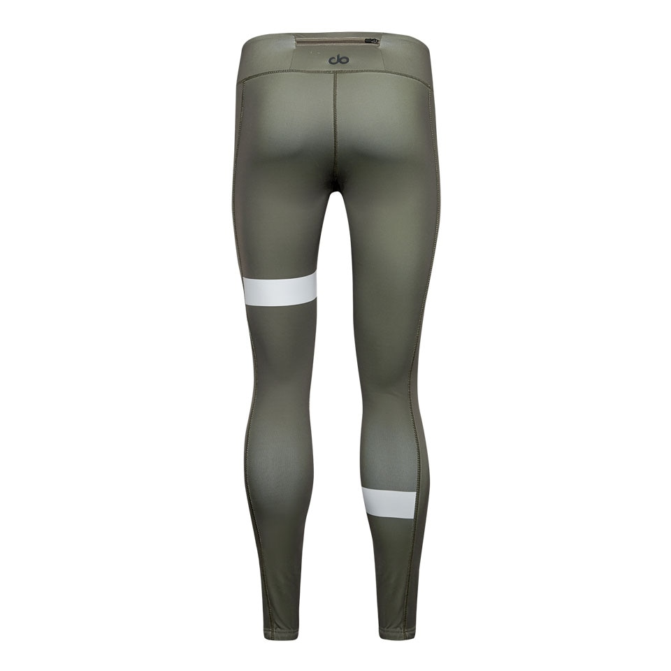 doRUN womens leggings - khaki