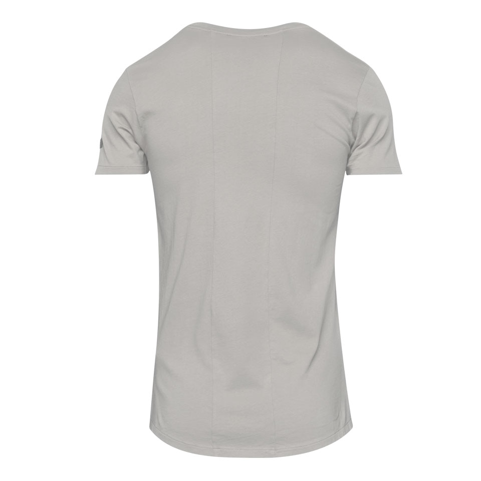icon mens sports t-shirt - beige