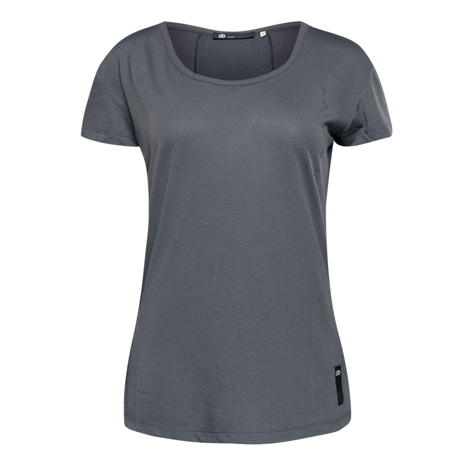 base womens sports t shirt - taupe