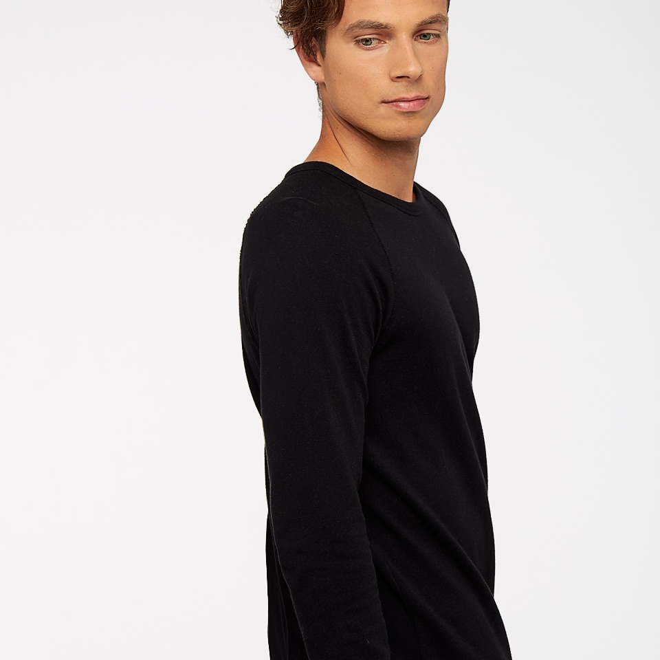 base california mens sweatshirt - black