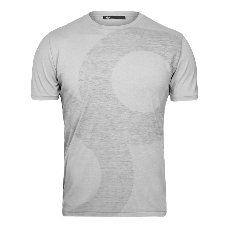 large icon mens t-shirt - grey
