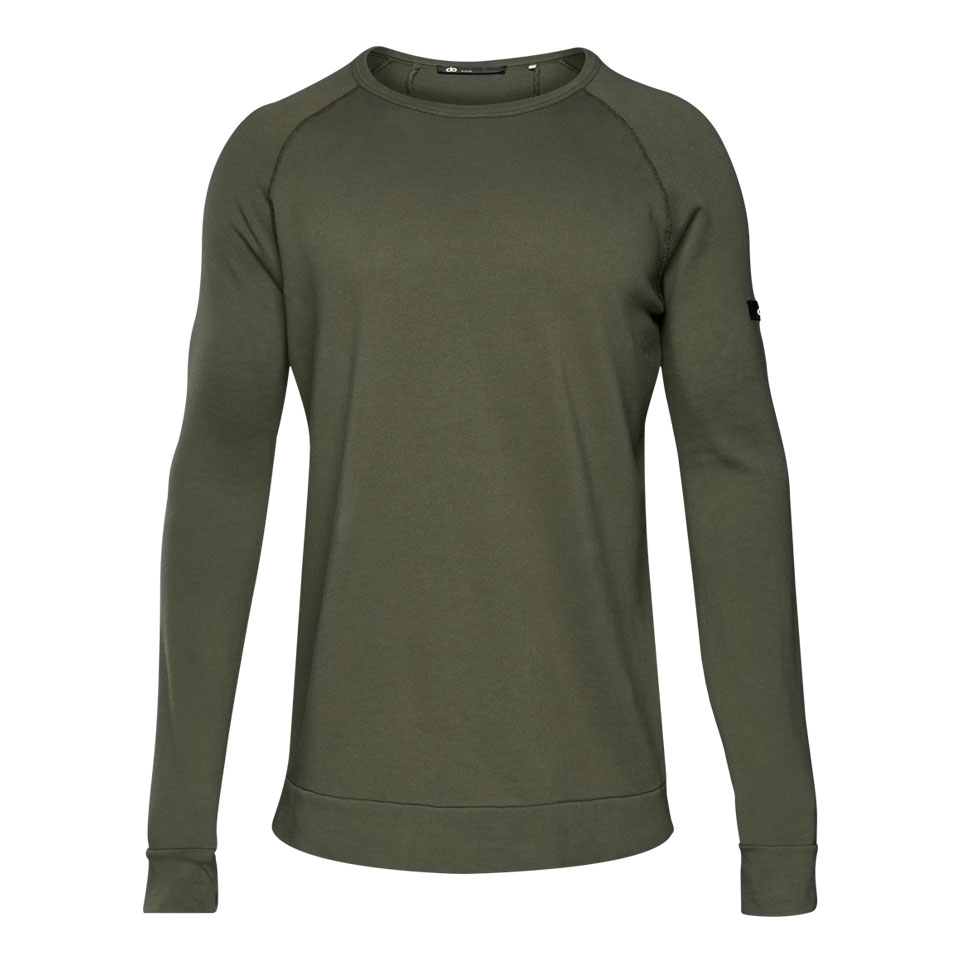 base california mens sweatshirt - khaki