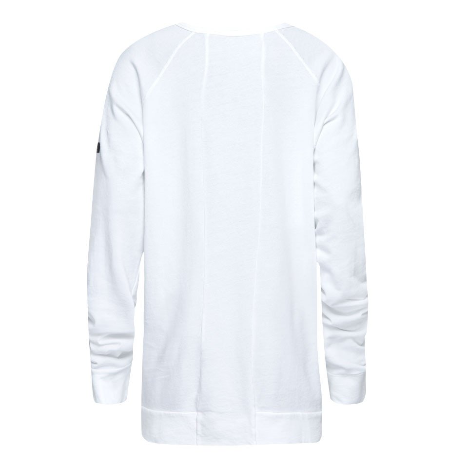 base california womens sweatshirt - white