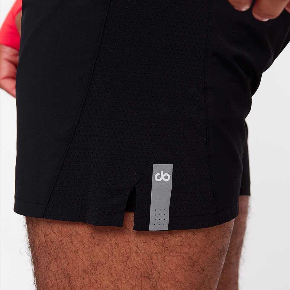 sheer speed mens 7 inch short - black