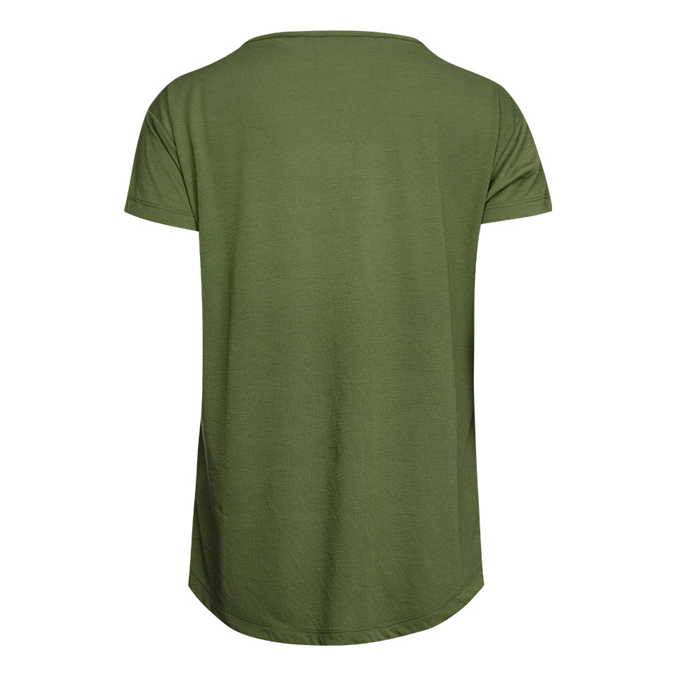 base womens t-shirt - khaki