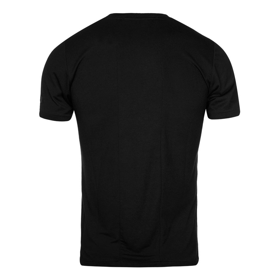 large icon mens t-shirt - black