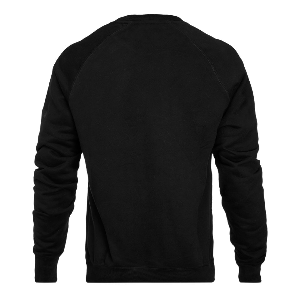 icon mens sweatshirt - black