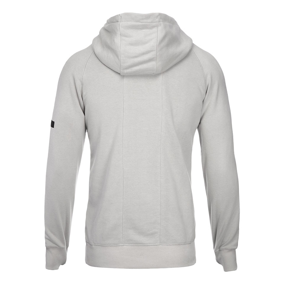 base zip mens hoodie sport - grey
