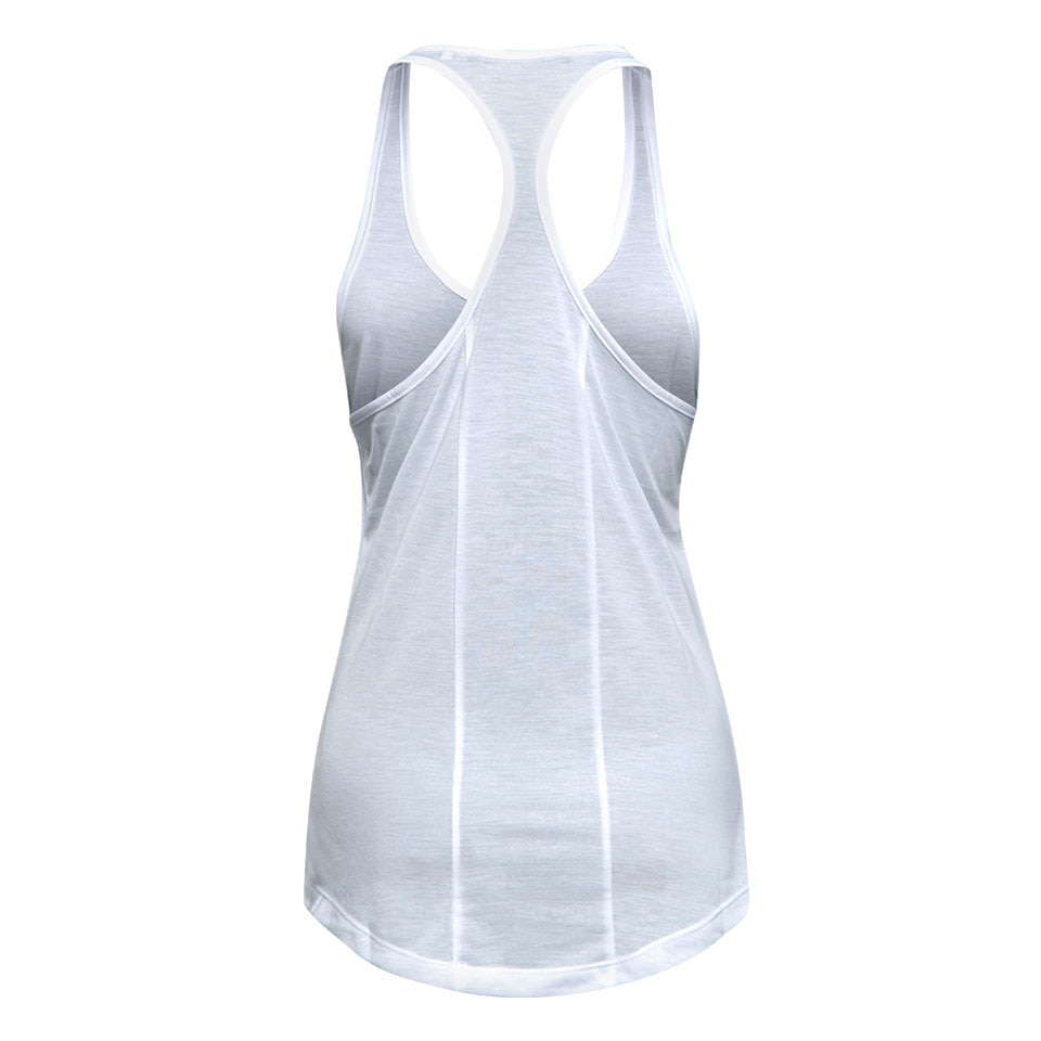 base womens tank top - white