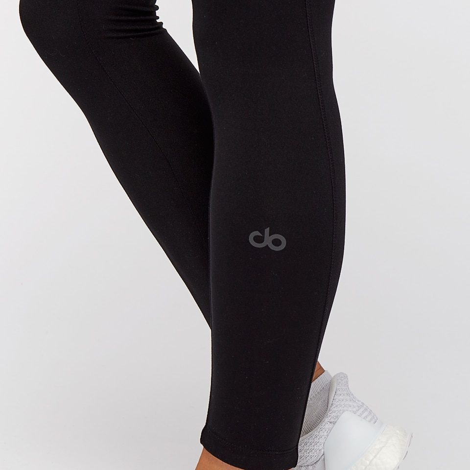 base womens no zipper leggings - black
