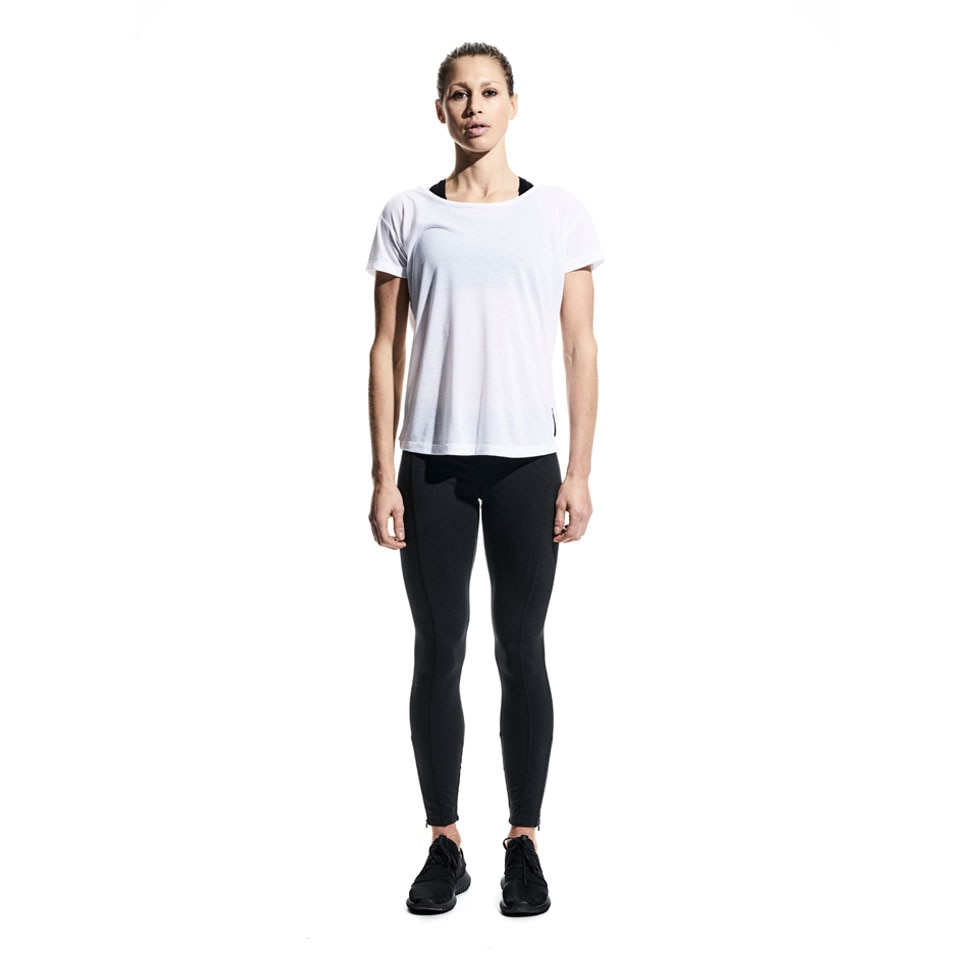 base womens t-shirt - white