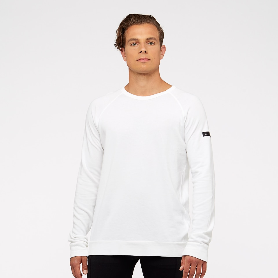 base california mens sweatshirt - white