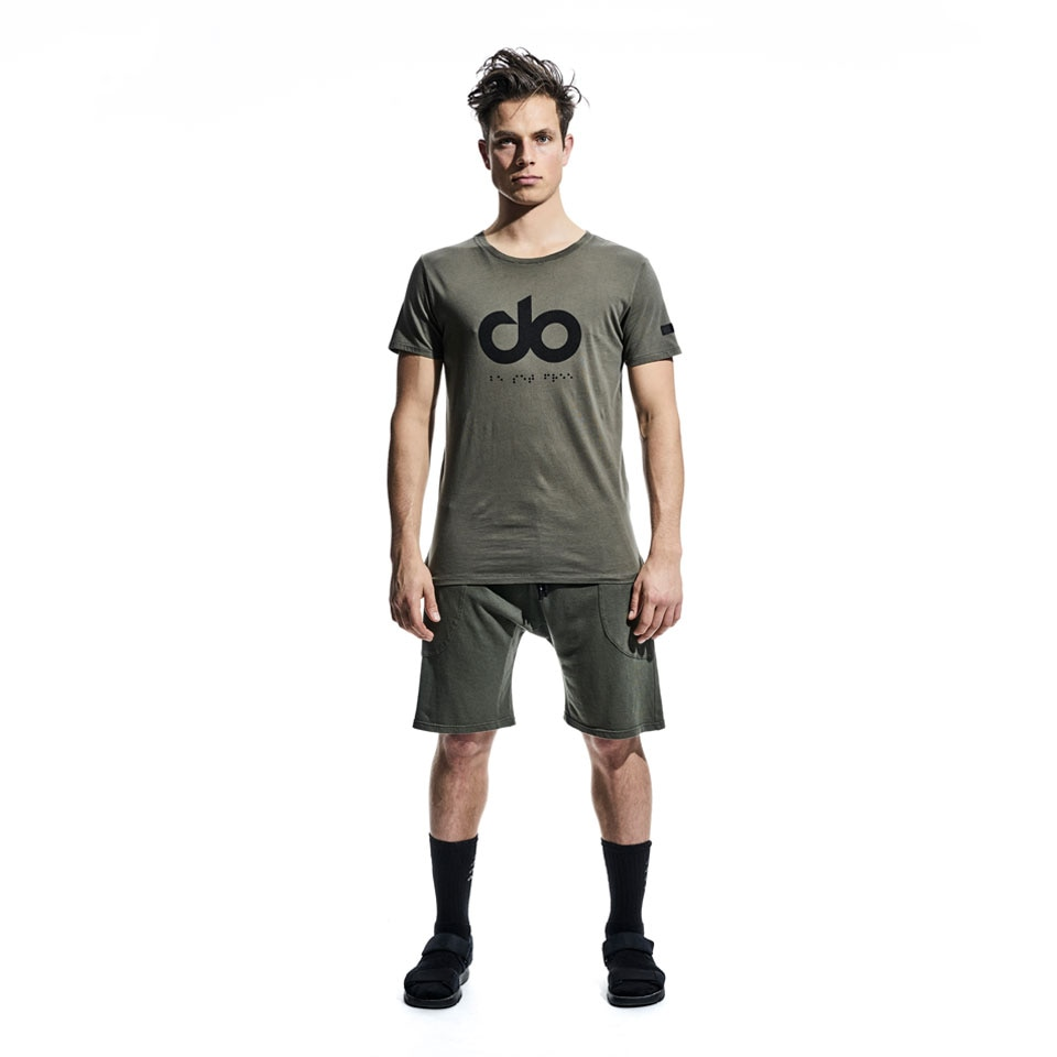 icon mens t-shirt - khaki