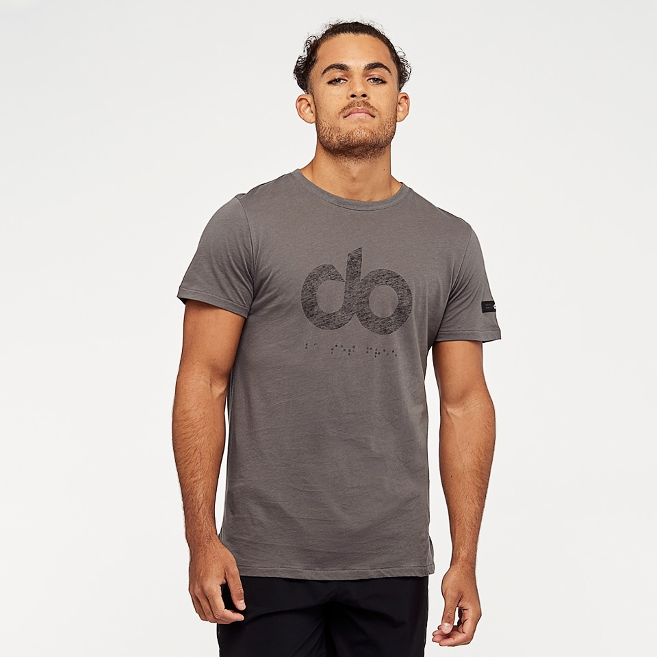 do mens icon tee - taupe