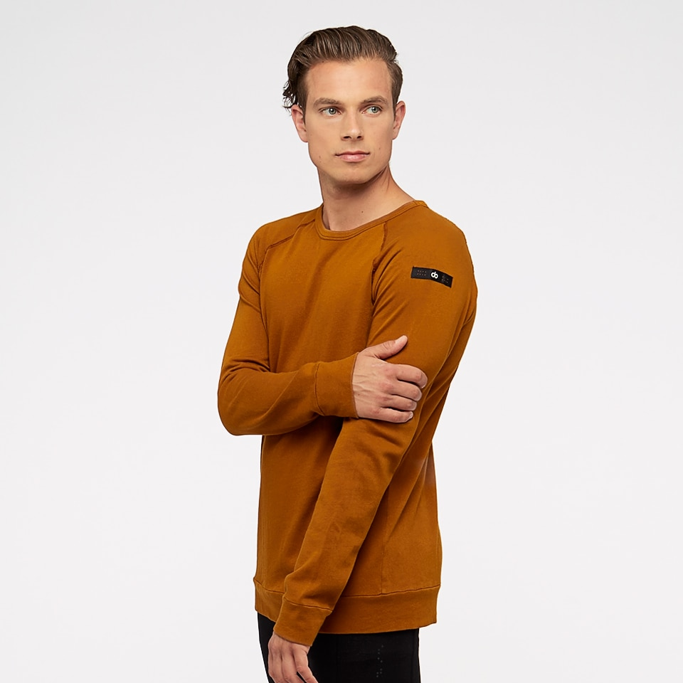 base california mens sweatshirt - burnt caramel