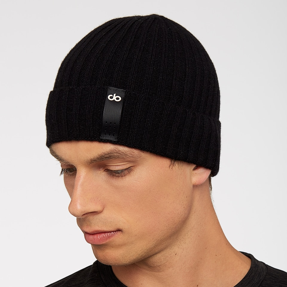 base mens beanie - black