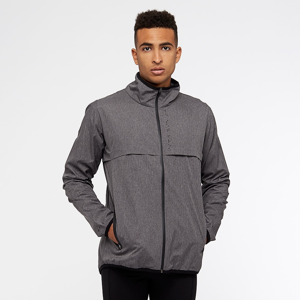 FREE JACKET DEAL - doRUN crossover mens sports jacket - grey marl
