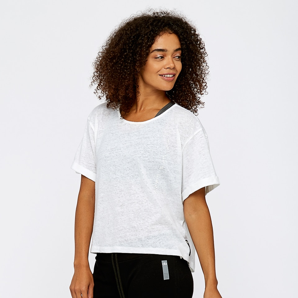 8b1b32a27583 base womens boxy t-shirt - white