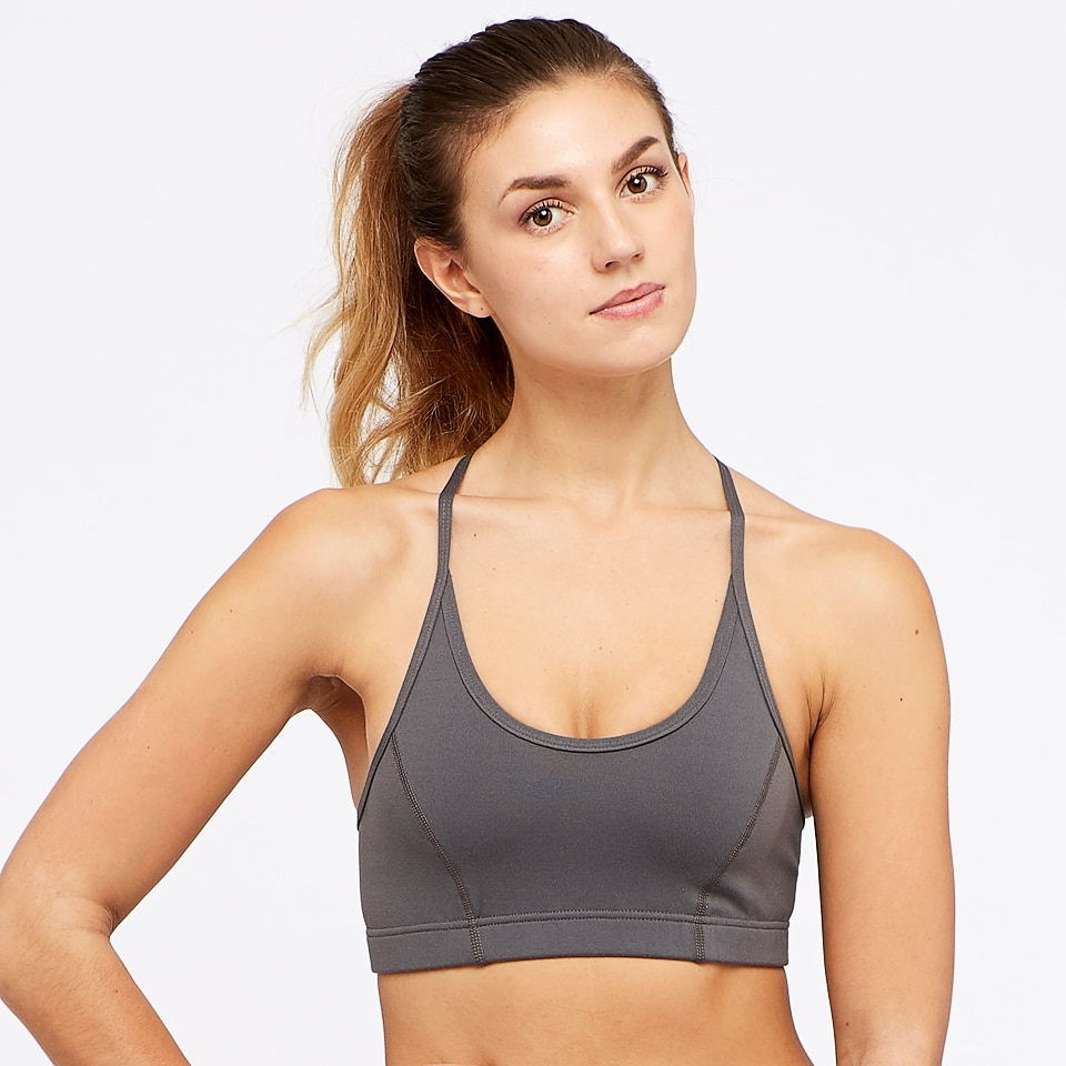 base womens strap bra - taupe