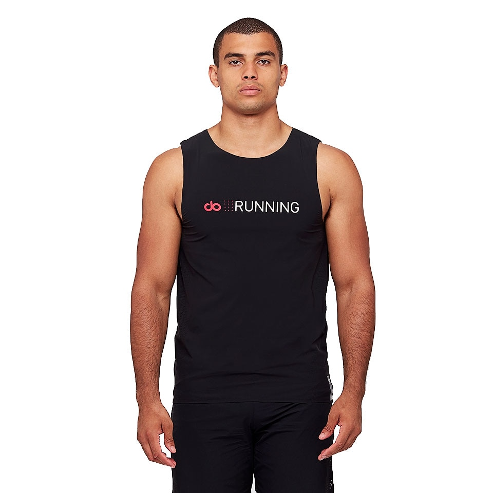 sheer speed mens vest - black