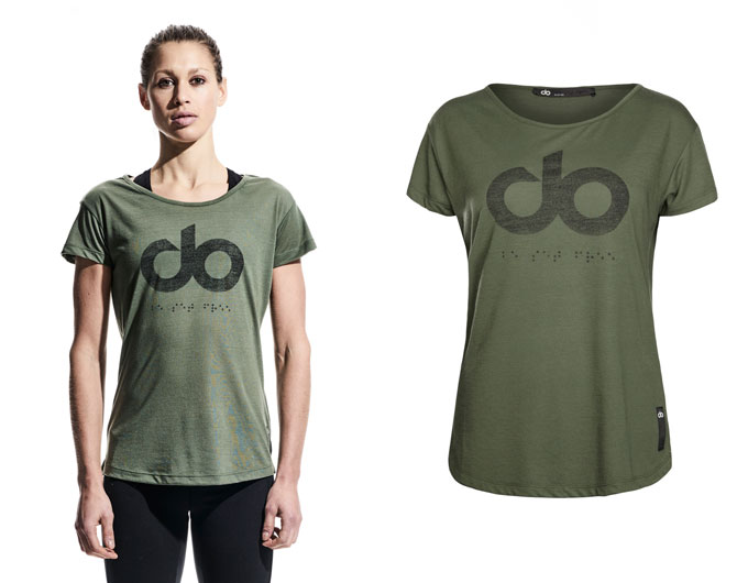 icon womens t-shirt - khaki