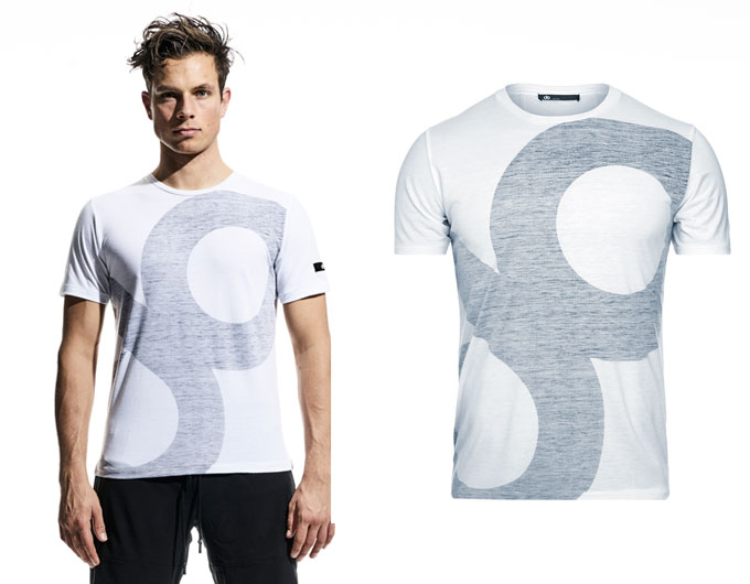 large icon mens t-shirt - white