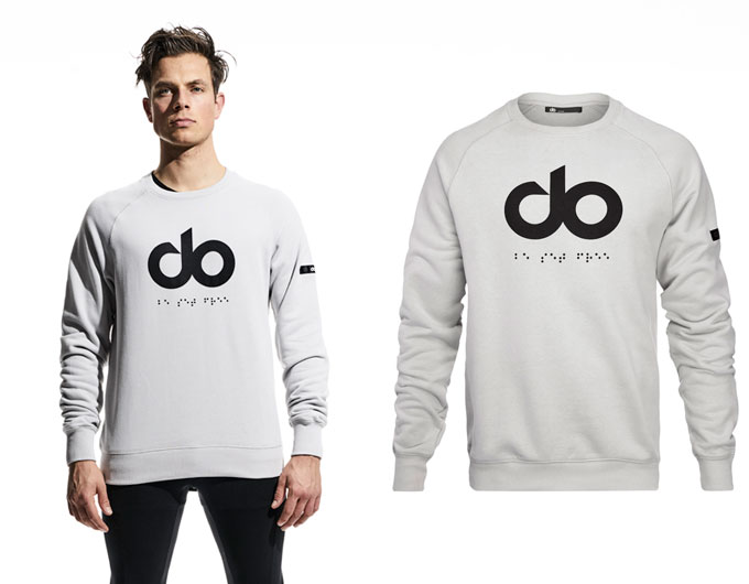 icon mens sweatshirt - grey