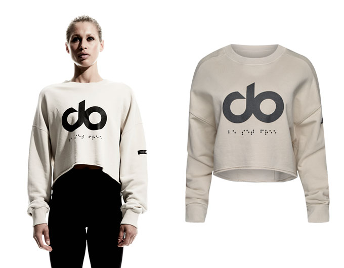 icon raw cut womens sweatshirt - sand