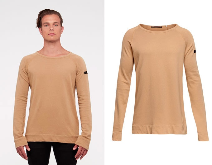base california mens sweatshirt - camel