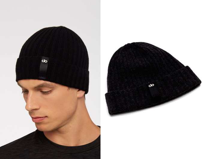 do mens beanie - black