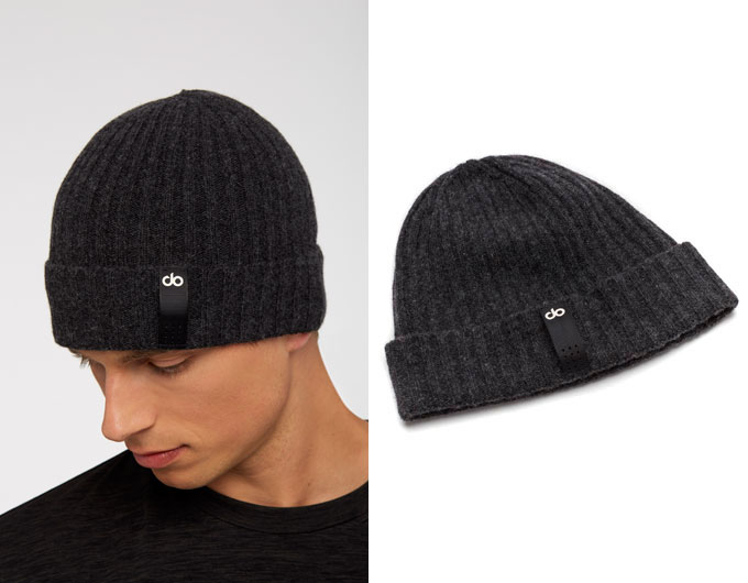 base mens beanie - charcoal marl