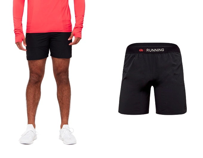 sheer speed mens 7 short - black
