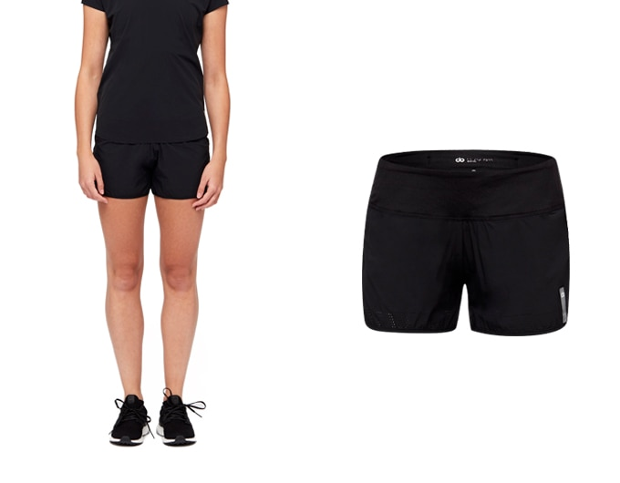 sheer speed dorunning womens short - black