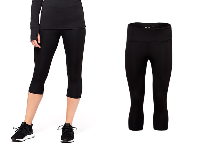 sheer speed dorunning womens capri - black
